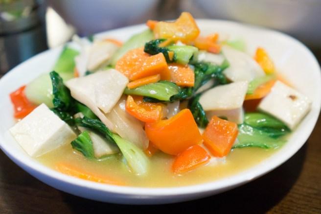 Mixed Vegetable Mgoe Ma - Phayul