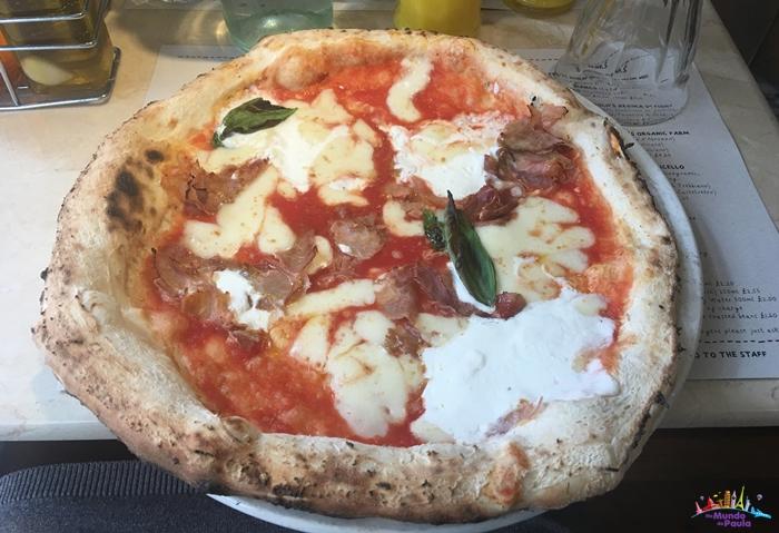 pizza boa e barata em londres
