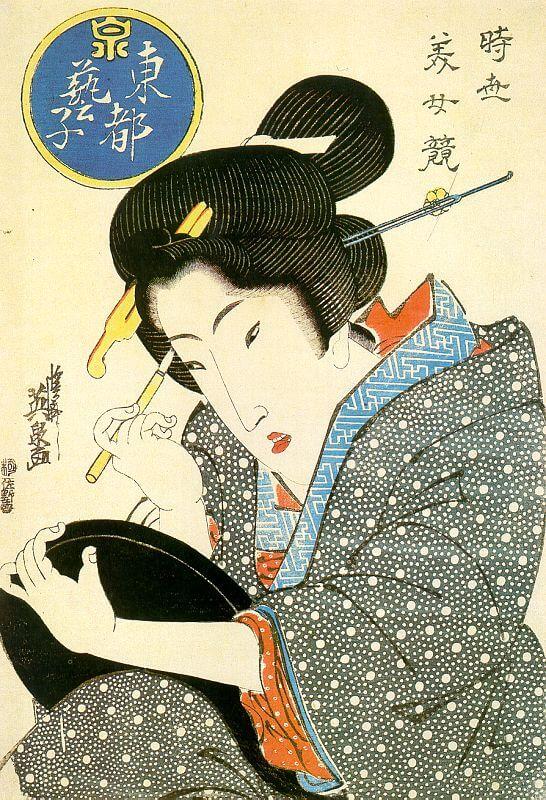 Artist: Keisen Eisai / Title: Beautiful Woman