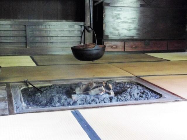 """Irori"" Japanese Style Fireplace Picture"