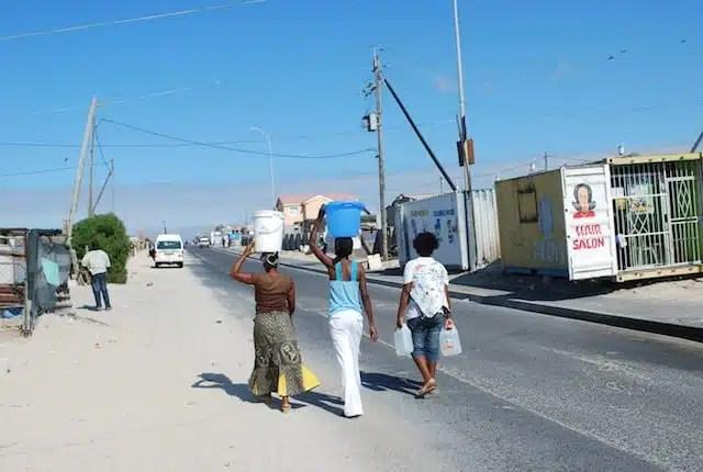 Khayelitsha, Città del Capo, Sudafrica - Da un capo all'altro