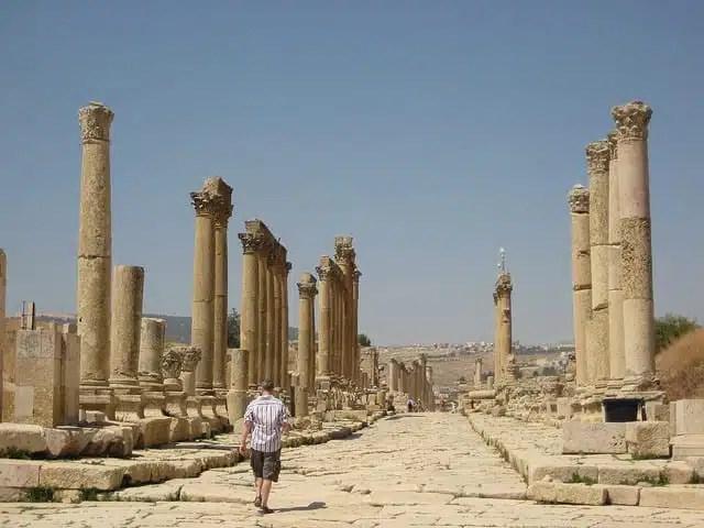 Jerash, Giordania