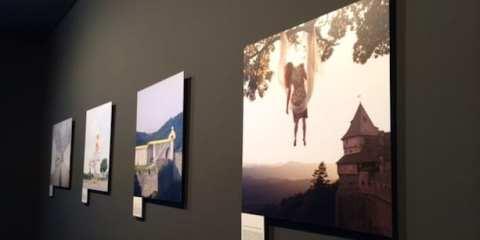Mostra Imagine France a Palazzo Stelline a Milano a cura dell'artista Maia Flore