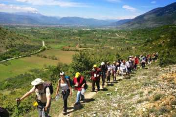 Sentiero della Libertà, Abruzzo