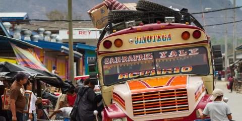 Chicken bus_Nicaragua_Adam Cohn