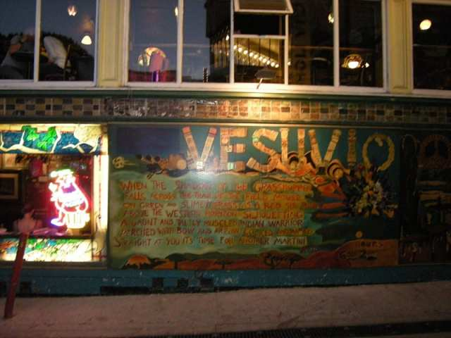 Caffé Vesuvio - San Francisco, USA