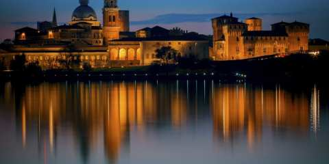 Mantova, blue hour