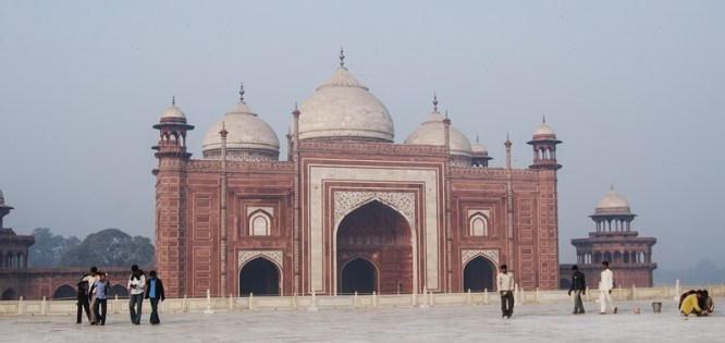 photo entrée Taj Mahal Inde