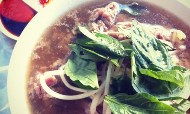 Pho at Cafe Buon Cibo, St Leonards
