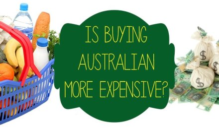 Is it more expensive to buy Australian made?