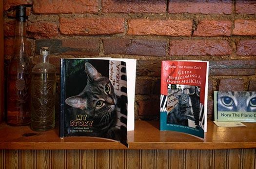 Nora Books At Cafe Lutecia