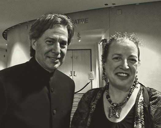 Conductor Richard Rosenberg & Betsy Alexander