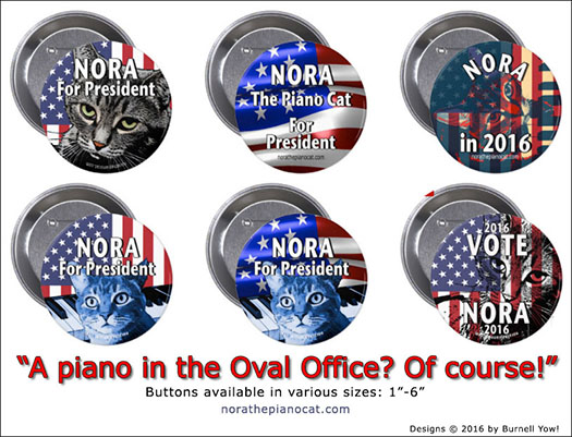 Six New Buttons