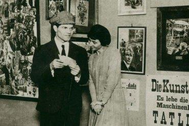 Erste Internationale Dada-Messe, Berlin 1920, Raoul Hausmann und Hannah Höch © Berlinische Galerie