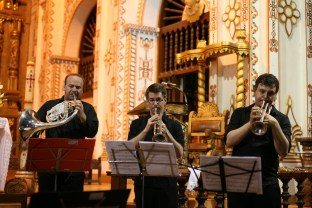 In collaboration with SICOR, APAC and Strømmestiftelsen, the NBE played concerts in a number of the beautiful Jesuit churches in the Chiquitos-region