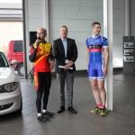 Friedel Meyer mit Peter Rohde und Florian Remark
