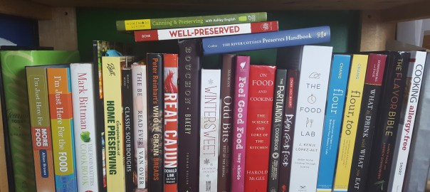 Cookbooks on a Shelf, kceridon