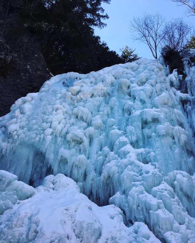 善五郎の滝氷瀑