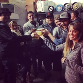 North Bay Brewery Tours crew celebrating SF Beer Week at BeerCraft in Rohnert Park.
