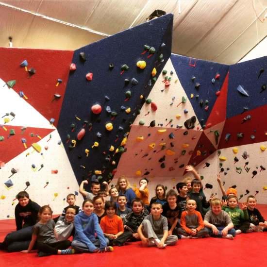 school group - elementary - Concord VT