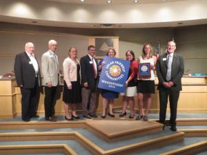 Westminster City Council recognized for reaching Platinum Level Solar Friendly City designation