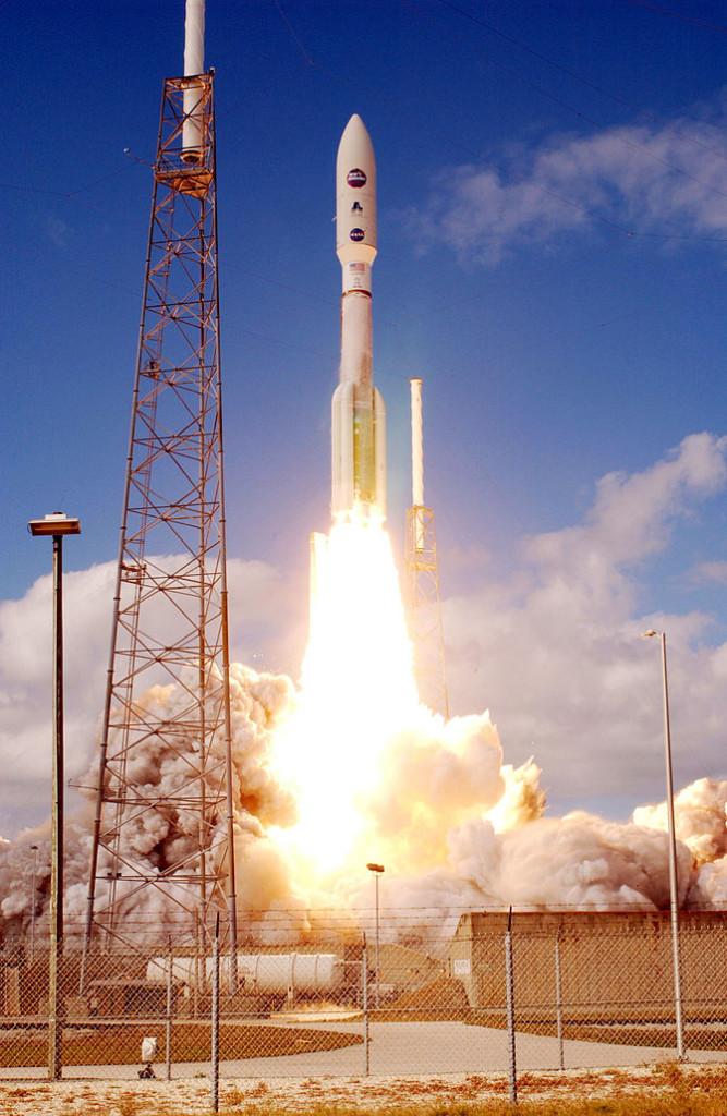 New Horizons at lift-off