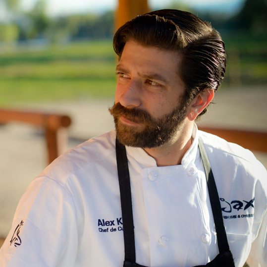 Chef de Cuisine Alex Krill of JAX Fish House