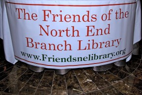 Friends of the North End Branch Library - Table Sign