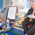 Mayor Thomas M. Menino Visits North End Head Start - March 2012