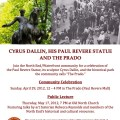Dallin Event Poster