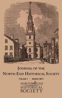 Volume 1 Cover Journal of the North End Historical Society