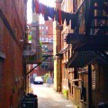 Alleys of North End by Michelle Levine - May 2012