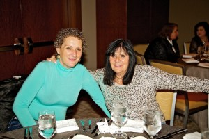 Donna Pimentel (left) and Josephine Spagnulo
