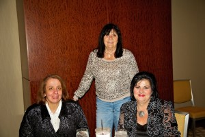 From left, Debra Decristoforo, Josephine Spagnulo and Olivia Scimeca