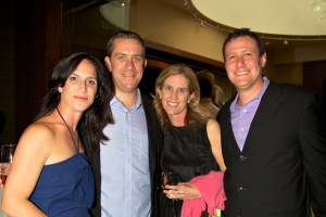 Jennifer &amp; Art McGivern, on left, with Dana Mandel and Matt Ginsberg