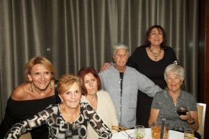 (L-R) Maria, Maryanne, Lucille, Marie, Avril and Norma