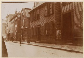 Clarke St. off Hanover St. 1893 (Courtesy of Boston Public Library)
