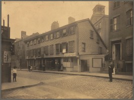 Wells Adam House - Cooper St. - 1898 (Courtesy of Boston Public Library)