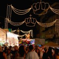 The Crowds and Lights at the 102nd Fisherman's Feast - August 18, 2012 by Matt Conti