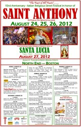 St. Anthony Feast Poster 2012