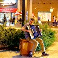 Accordian Player on Cross Street - September 2012 (Photo by Matt Conti)