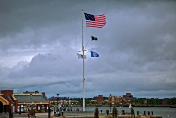 Long Wharf on a Stormy Day (1)