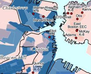 Median Household Income for North End / Waterfront and Downtown Boston
