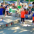 Peggy and Bobby Magri - Bocce Tournament Champions at Langone Park - September 2012 (Photo by Matt Conti)