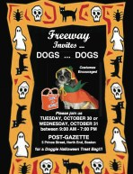 Freeway Post Gazette Halloween Flyer