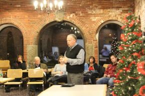 James Mansfield, shown here representing BTD at a December 2010 NEWNC meeting.