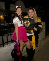 Hello Kitty and Bruins on Prince Street