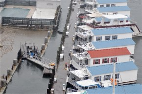 Lewis Wharf Marina High Tide Houseboats