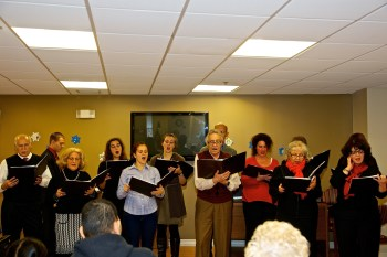 St Leonard Choral Society at NE Nursing Home - December 2012 22