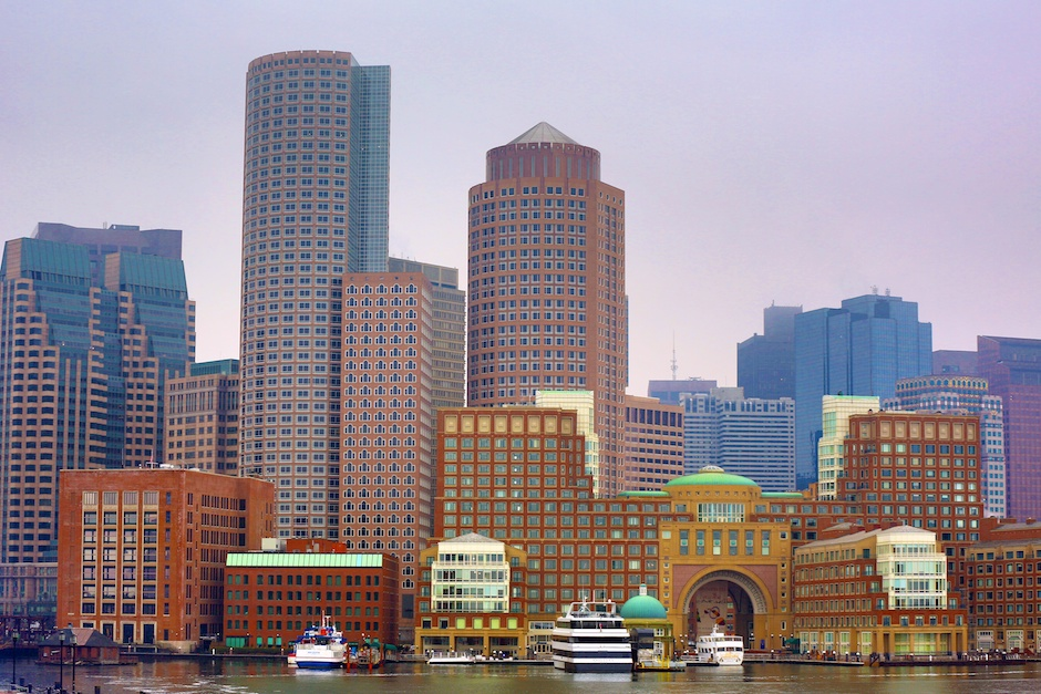Rowes Wharf and Downtown